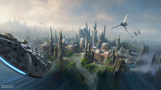 Star Wars land expansion at Hollywood Studios